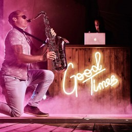 DJ And Saxophone Entertainment